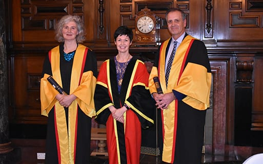 College admits new Honorary Fellows