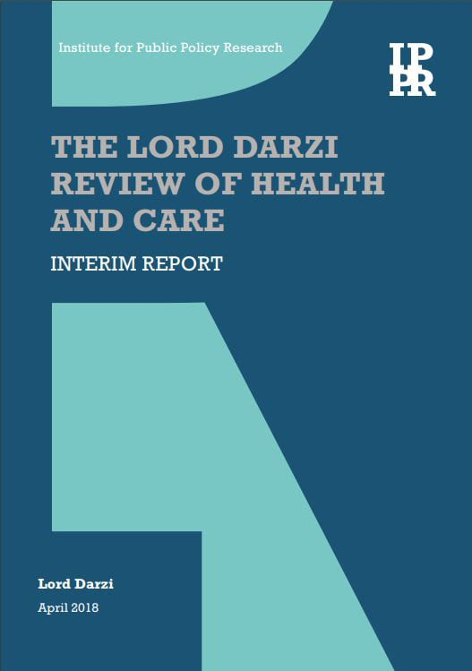 College responds to the The Lord Darzi Review