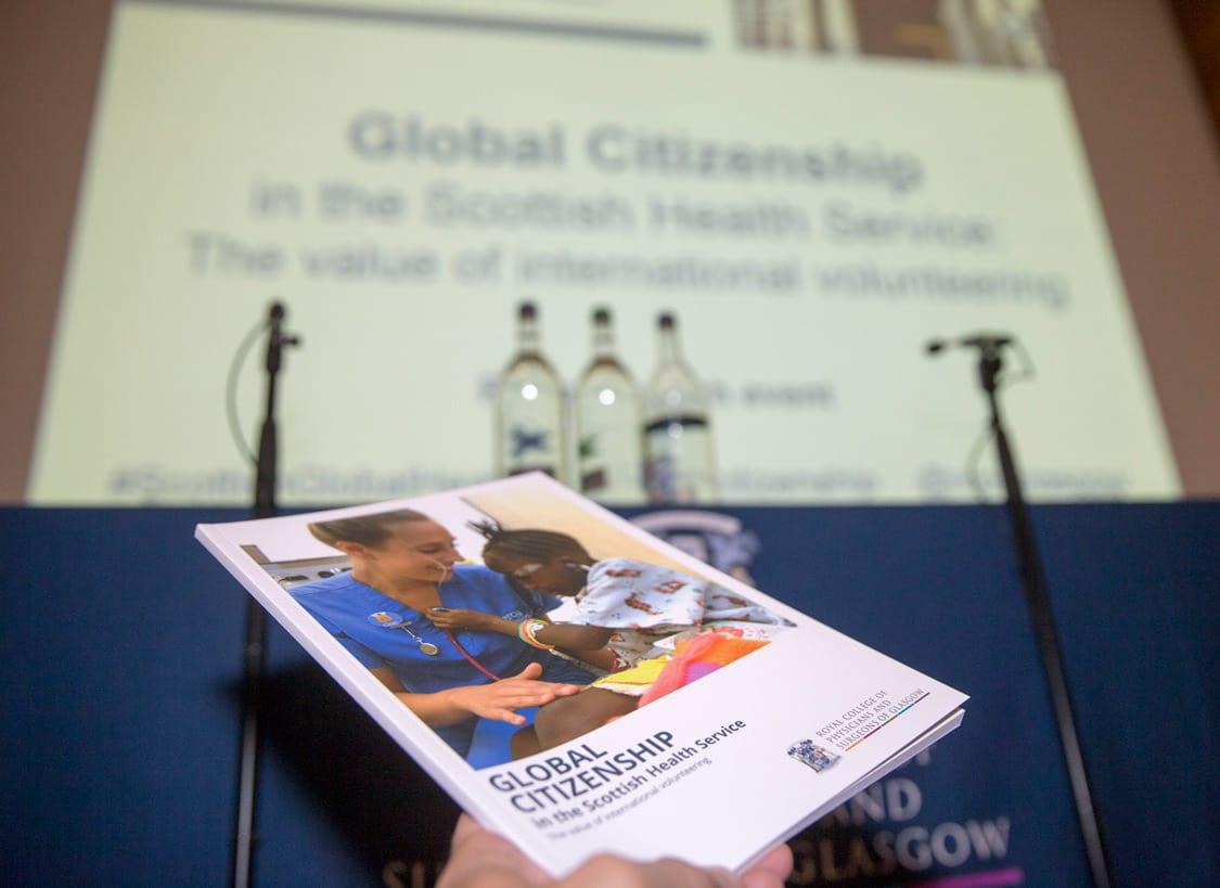 Global citizenship on the agenda for Scotland's NHS