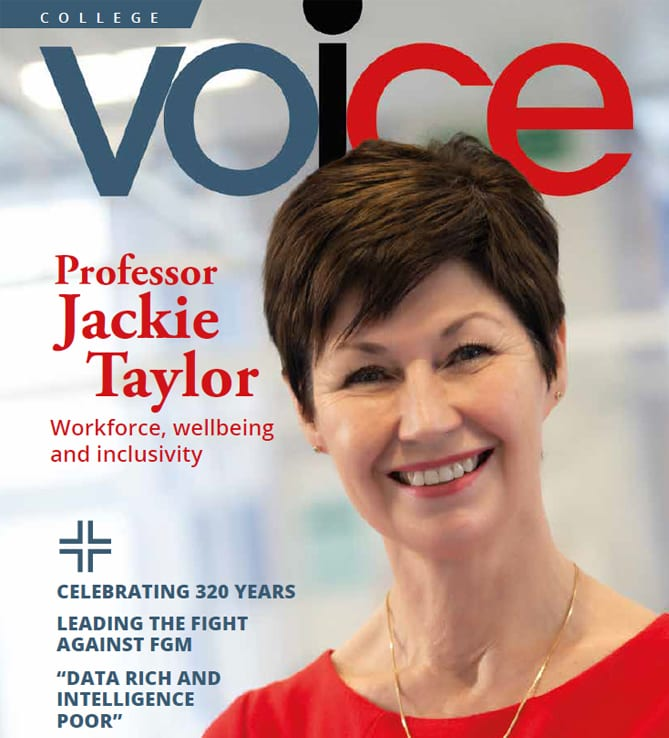 Professor Jackie Taylor writes for Voice