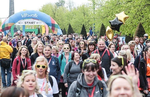 Sign up to Kiltwalk and support the HOPE Foundation