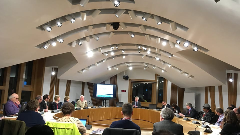 College takes Global Citizenship agenda to Holyrood