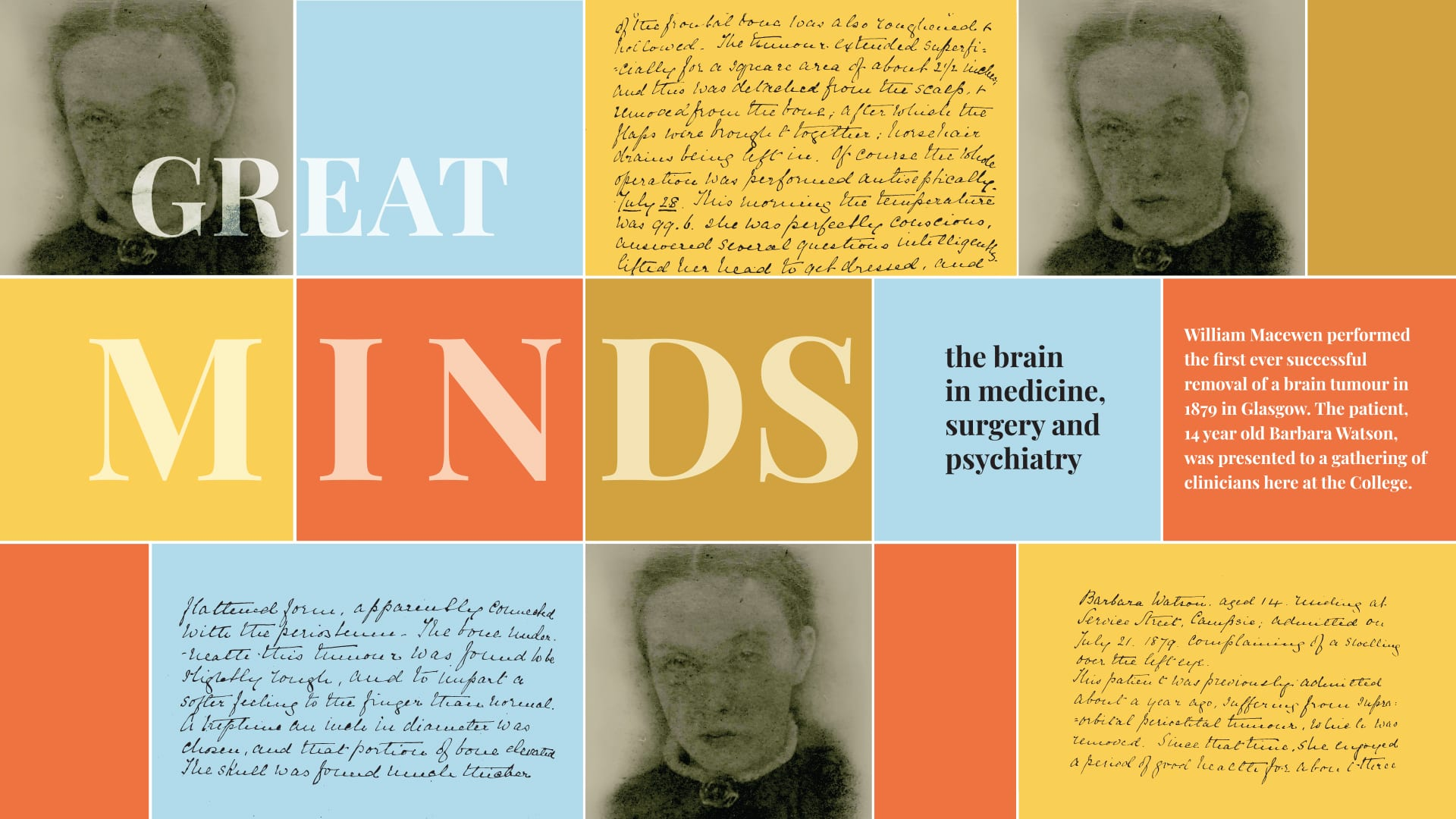 Great Minds: The Brain in Medicine, Surgery and Psychiatry