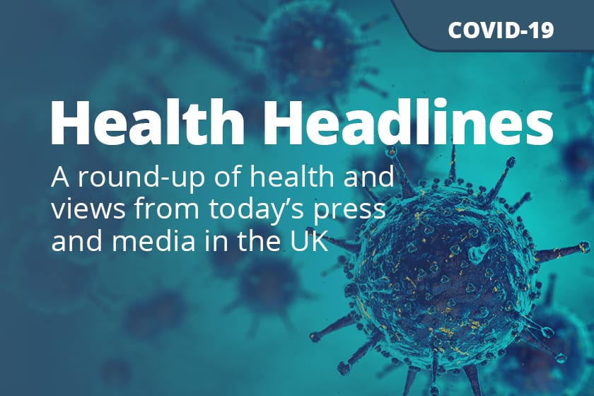 COVID-19: Daily UK Media Update, 24 April 2020