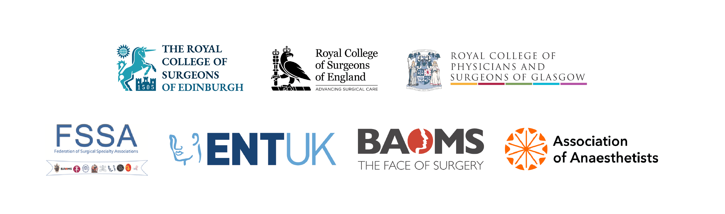 Joint UK Royal Surgical Colleges, Federation of Surgical Specialty Associations and Upper Airway Group Statement