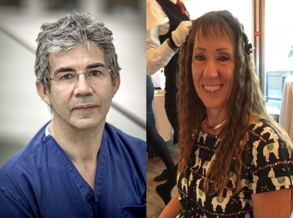 Royal College awards President's Medal to David Nott and Deborah Monk