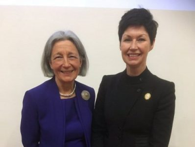 President reflects on Dame Clare Marx announcement