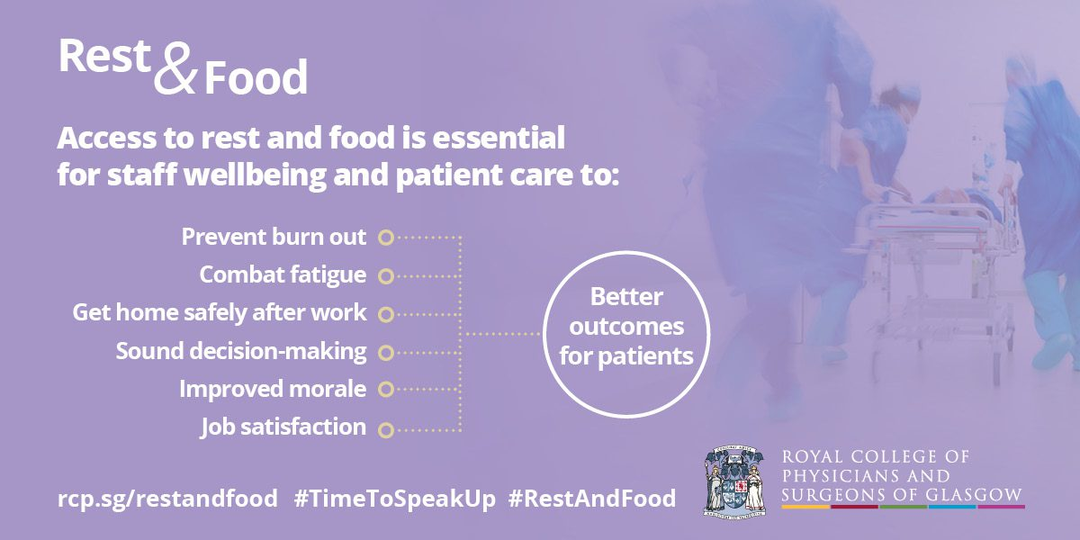 Rest and Food campaign